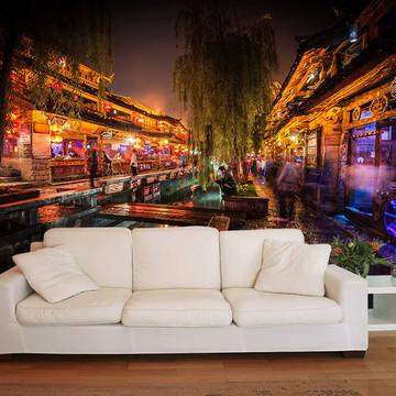 Papel de Parede 3D Cidades 0005 (Japão) Adesivo de parede