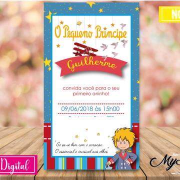 Convite Digital - Pequeno Principe