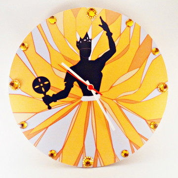 Relógio De Parede Personalizado - Orixá Oxum - Mdf 33cm