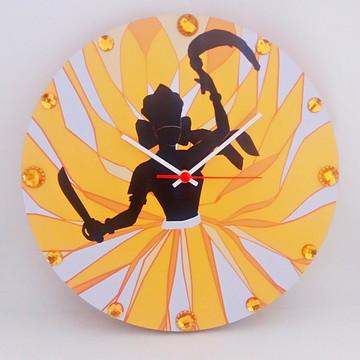 Relógio De Parede Personalizado - Orixá Iansã 2 - Mdf 33cm