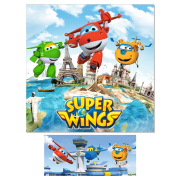 Super kit Sublimado Super Wings