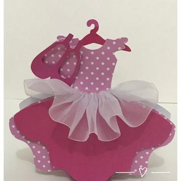 Papelaria - Caixinha vestido Bailarina