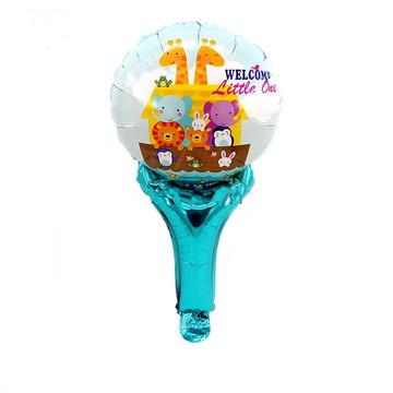 10 Balões Enfeite Animais,Arca de Noé