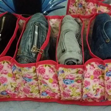 organizador colmeia para calças jeans