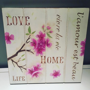 Pallet Cerejeira Home Love