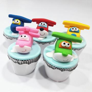 Mini cupcake Super Wings