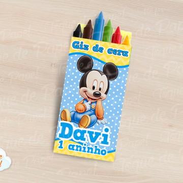 Giz de cera Mickey Baby
