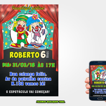 Convite Patati Patata (Digital)
