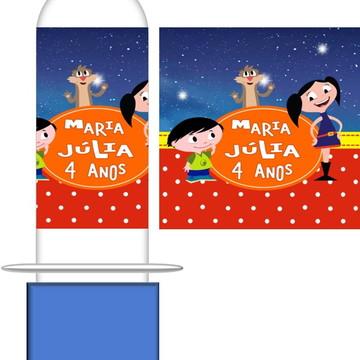 Tubete Personalizado Show da Luna