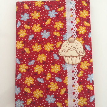 Caderno encapado em tecido - Brochura P