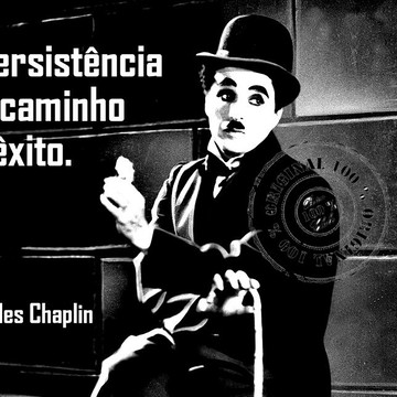 Posteres Personalizados Papel Couché 250 g-Charles Chaplin