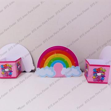 45 Centros de mesa -Hello Kitty