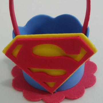 Cestinha Lembrancinha Super Homem