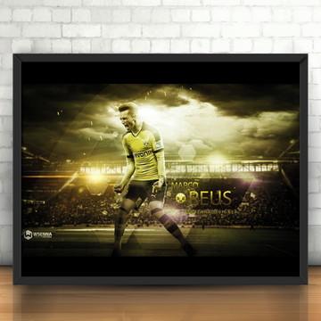 4686d89a49 Quadro Marco Reus   Borussia Dortmund