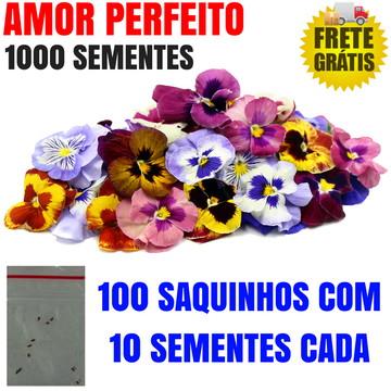 KIT de Sementes de Amor Perfeito Ideal para Lembrancinhas