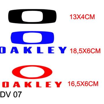 ce1f017b2 Adesivo Decorativo Marca Oakley para Carro | Elo7