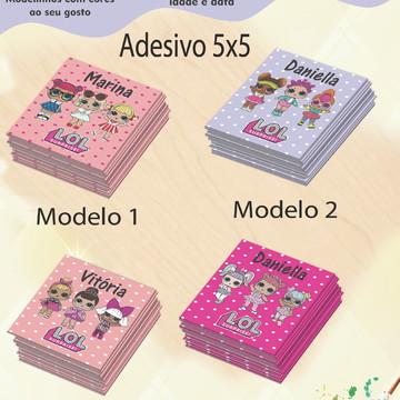 Adesivo Quadradinho-Lol surprise