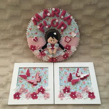 Kit decoração Menina