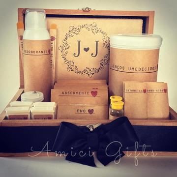 Embalagens kit toilette rústico