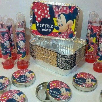 Kit Festa Personalizado Minnie