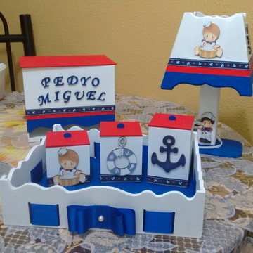 Kit higiene menino marinheiro