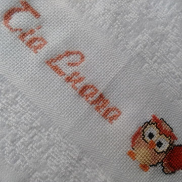 Mini toalha professora