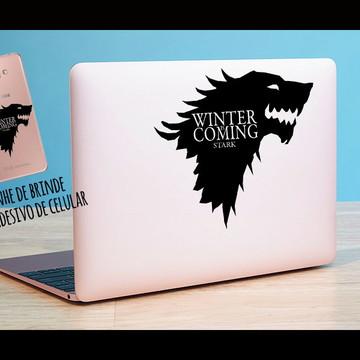 Adesivo notebook + brinde Stark