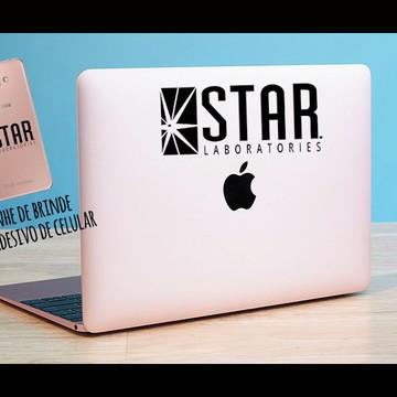 Adesivo Notebook Star lab + brinde