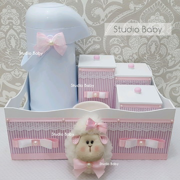 Kit Higiene Bebê Ovelha