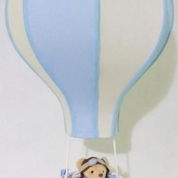 lustre paraquedas pendente infantil personalizado e aviador