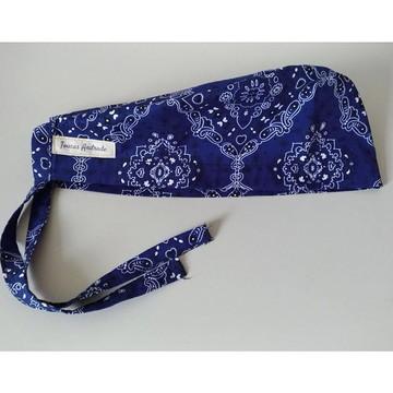 Touca Unissex Bandana Azul