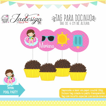 TAG PARA DOCE - POOL PARTY
