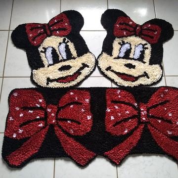 Mickey e Minnie Tapetes para decoração da cozinha frufru