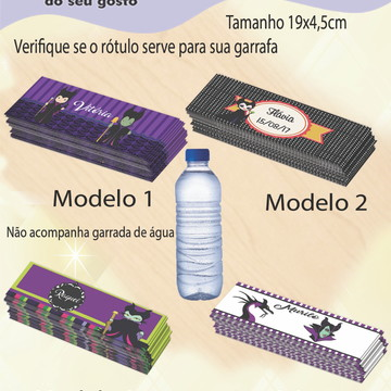 Rótulo Água Mineral-Malevola