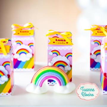 Caixa Milk - Arco-íris