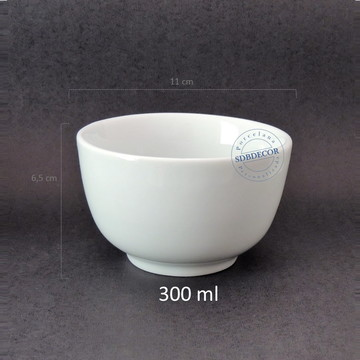 Tigela de porcelana 300 ml