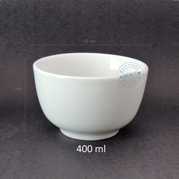 Tigela de porcelana 400 ml
