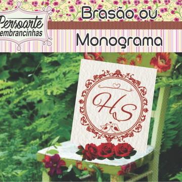 Brasão ou Monograma bodas
