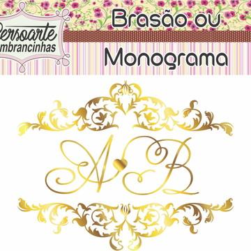 Brasão ou Monograma bodas de ouro