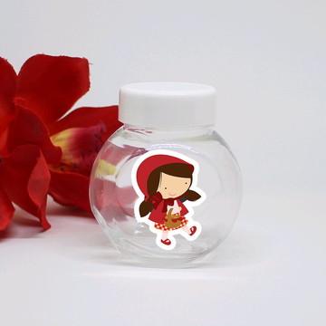 Mini-baleiro de plástico - chapeuzinho vermelho