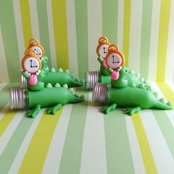 Crocodilo Tic Tac Biscuit - Tubetes