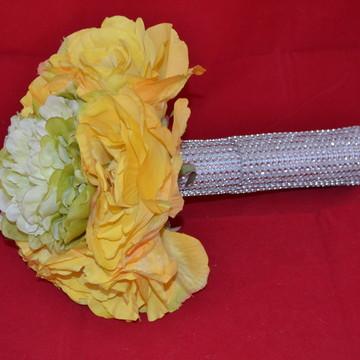 Buque de flores artificiais para noivas