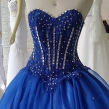 Vestido 15 anos azul royal