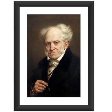Quadro Schopenhauer Filosofia Livros Genios Cult Decoracao
