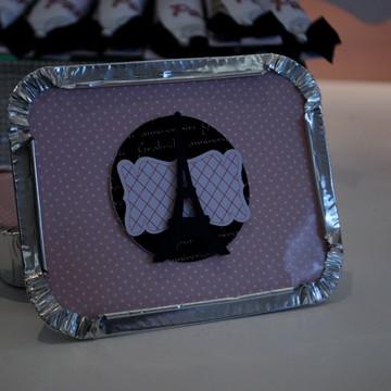 Marmitinha personalizada no tema Paris