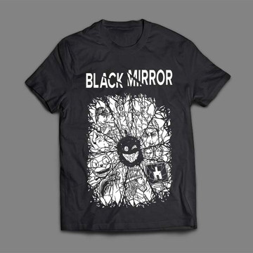 Camiseta Feminina Black Mirror