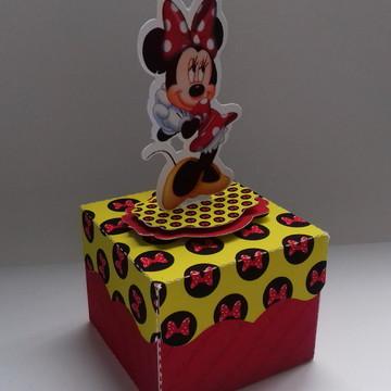 Minnie Vermelha Caixinha Brownie
