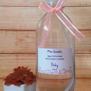 Água Perfumada para Lençóis 500ml - Baby