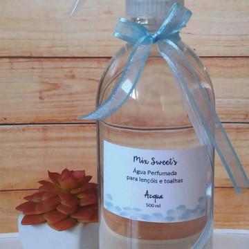 Água Perfumada para Lençóis 500ml - Acqua