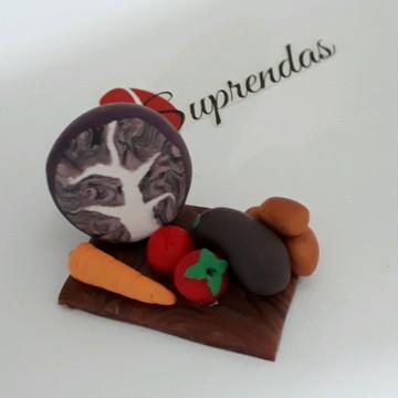 Miniatura de tábua de legumes